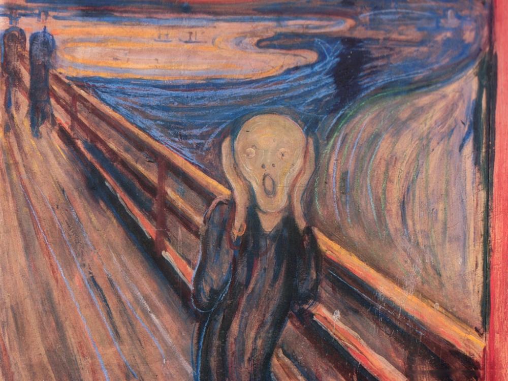 Кульминацией творчества Мунка того периода стала картина «Крик», знаковая работа в жанре экспрессионизма. Художнику удалось передать страх и отчаяние одинокого человека цветовой палитрой картины и изгибающимися линиями.