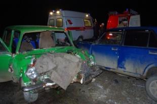 В ДТП на трассе Челябинск-Троицк погиб пассажир «Жигулей»