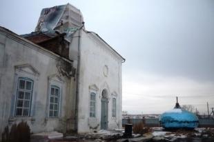 Пожар в храме произошел на Южном Урале