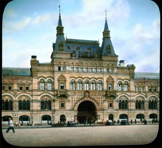 Здание ГУМа в 1931 году.