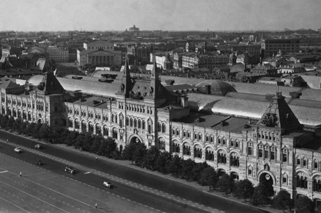 ГУМ после реконструкции, 1954 год.