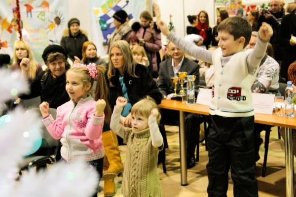 Лучшего Деда Мороза выбрали в КВЦ «ВертолЭкспо»  11 декабря.