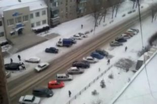 Житель Магнитогорска снял на камеру телефона похищение человека