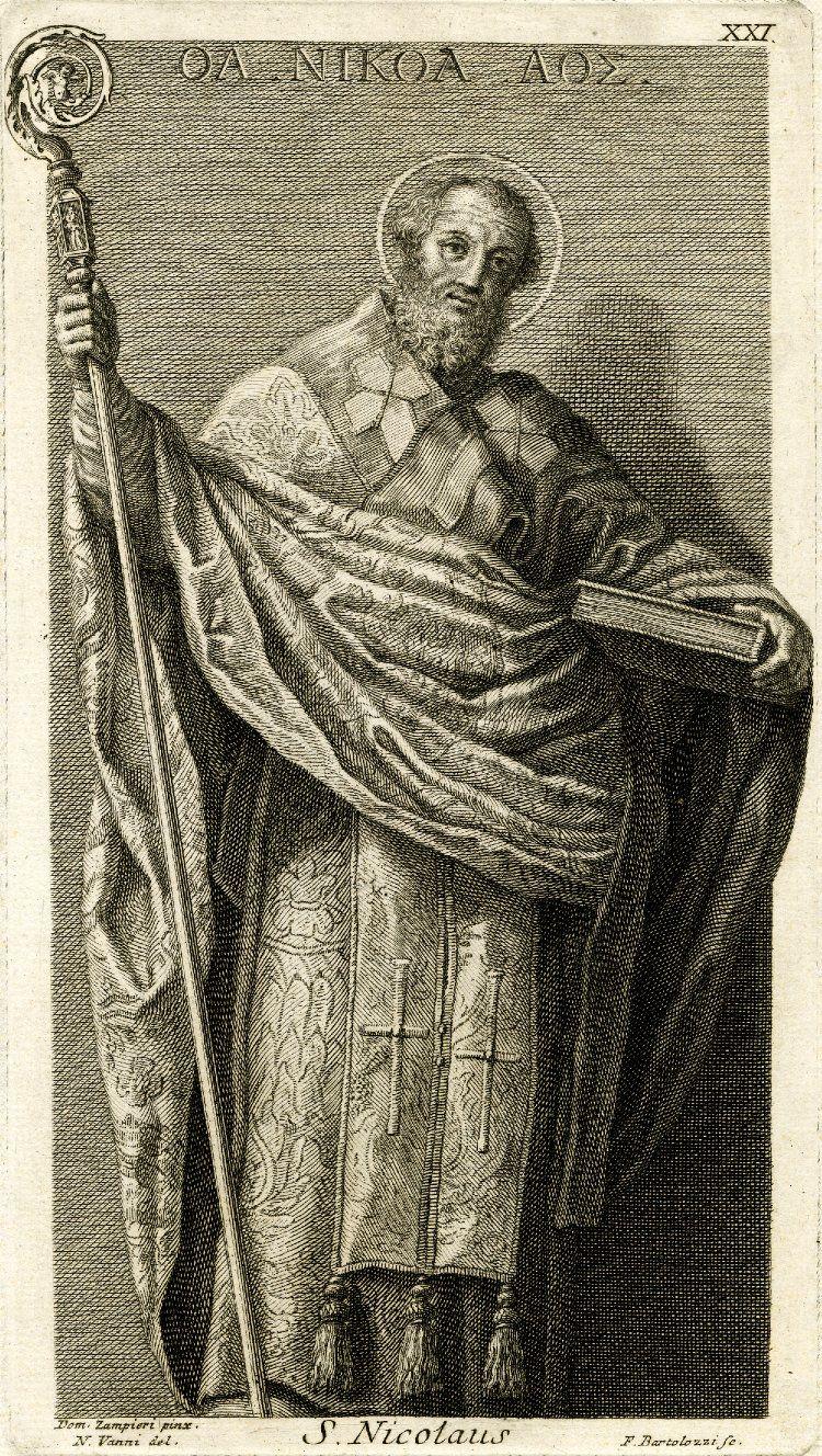 Святитель Николай почитается в христианстве как чудотворец, он считается покровителем моряков, купцов и детей. Он почитается в православной, католической, англиканской, лютеранской и древневосточных церквях.