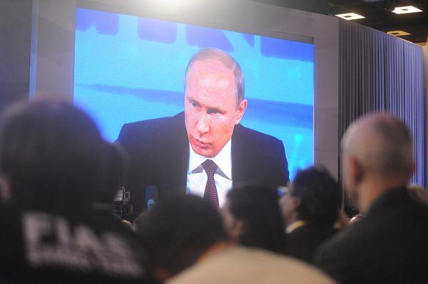 На мероприятие было аккредитовано более тысячи представителей российских и зарубежных СМИ.