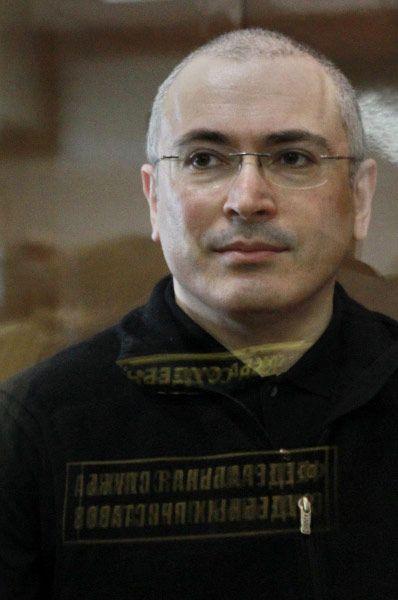 Михаил Ходорковский во время рассмотрения кассационной жалобы на приговор, 2011 год.