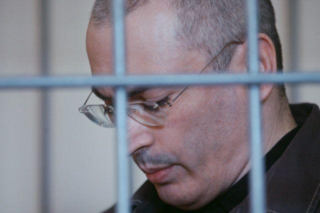 Михаил Ходорковский во время слушаний об условно-досрочном освобождении, 2008 год.