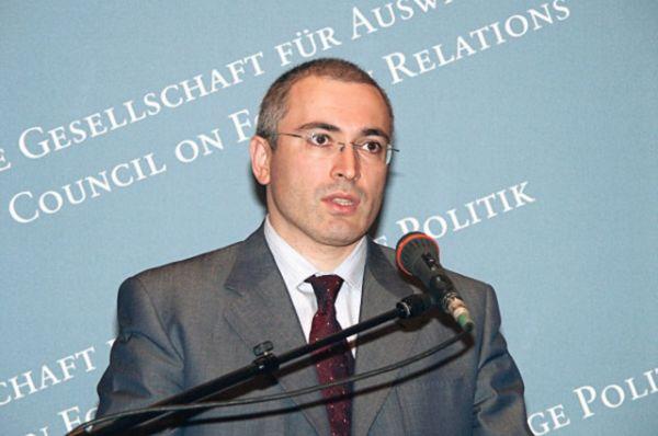 Михаил Ходорковский в 2003 году.