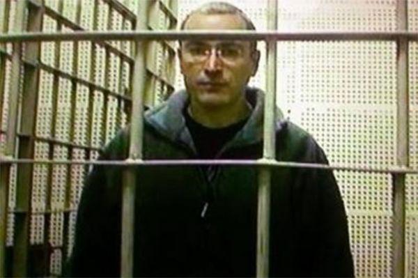 Ходорковский в камере в ноябре 2003 года.