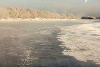 Рыбачить на льду можно только при его толщине 10 см.