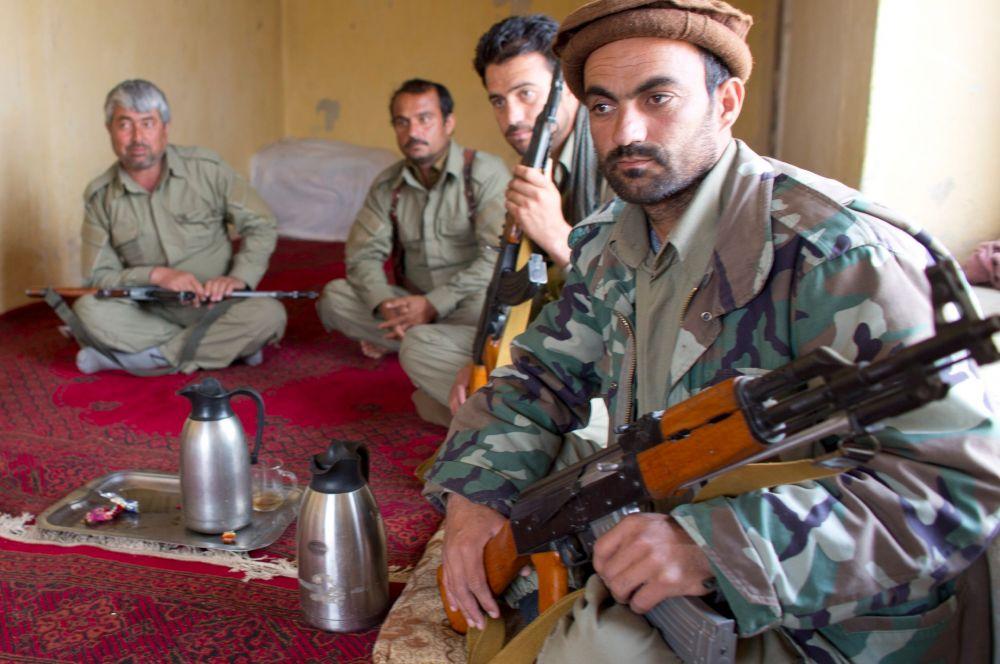 Среди прочего он находятся на вооружении афганской полиции.