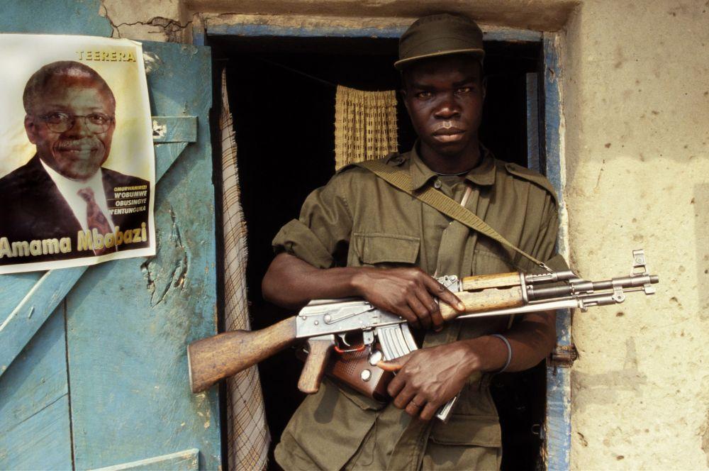Он также находится на вооружении армии Уганды.