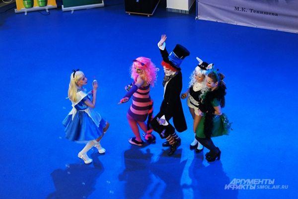 Танец сказочных персонажей