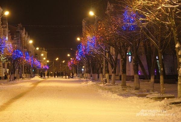 Или погулять по улице Ленина