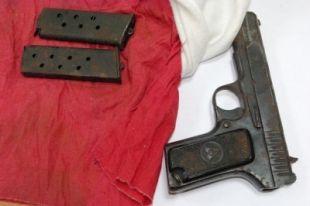 В Челябинской области пенсионерка сдала в полицию пистолет