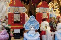 Рождественская ярмарка на Пионерской площади
