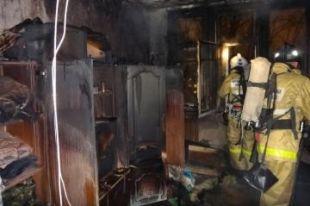 На Южном Урале мужчина устроил пожар, украшая квартиру к Новому году