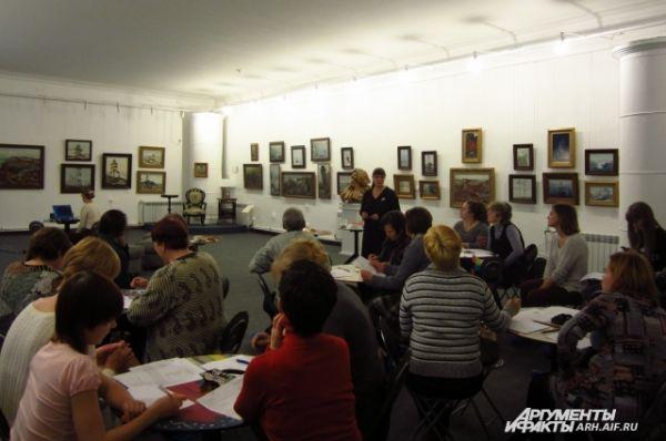 Мастер-классы прошли в Музее художественного освоения Арктики.