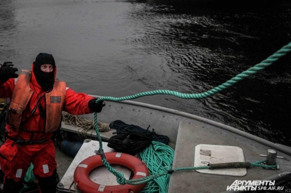 Спасатели Центральной водно-спасательной станции