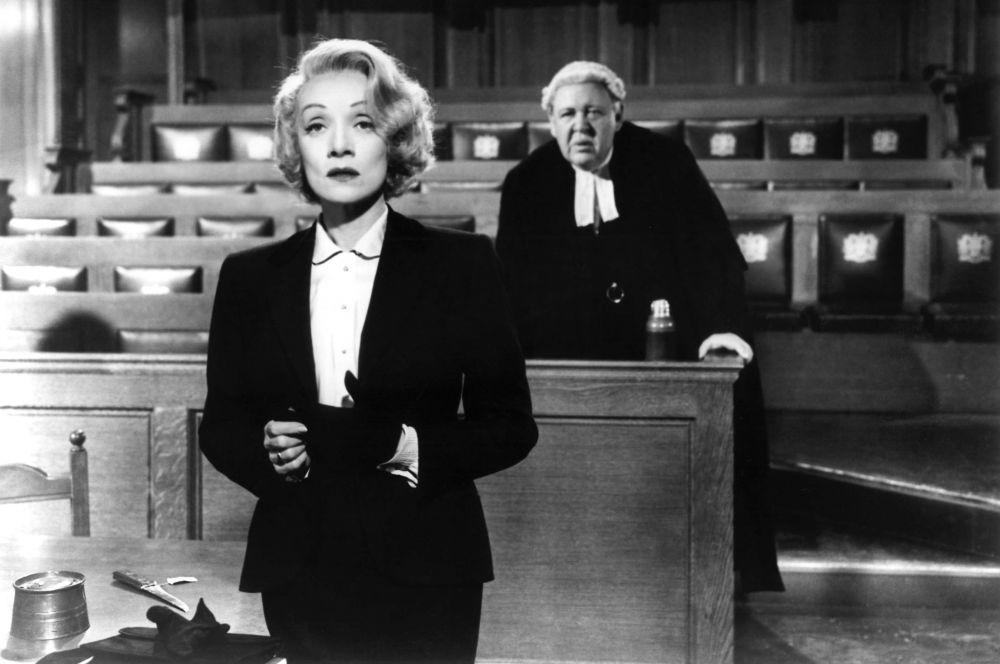 Последними громкими успехами в кино для Марлен Дитрих стали фильмы «Свидетель обвинения» и «Нюрбергский процесс». За работу в первом из них Дитрих была номинирована на «Золотой глобус», а второй фильм получил два «Оскара».