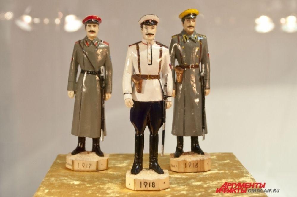 Миниатюры фигуры выполнены с исторической достоверностью.