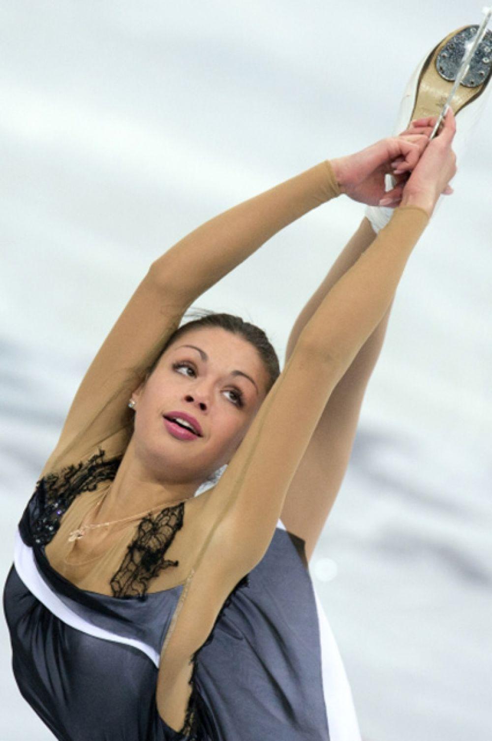 9-е место, Николь Госвияни, 17 лет, в сезоне 2012/13 выиграла Трофей Словении и Международный юношеский турнир Nestle, в сезоне 2013/14 победила в Хорватии на Кубке Золотого медведя и заняла второе место на Мемориале Ондрея Непелы в Братиславе.
