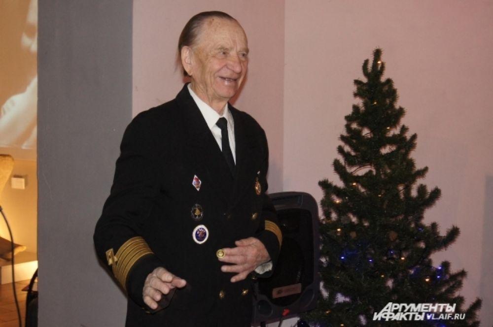 Последний капитан турбохода «Советский Союз» Пётр Полищук.