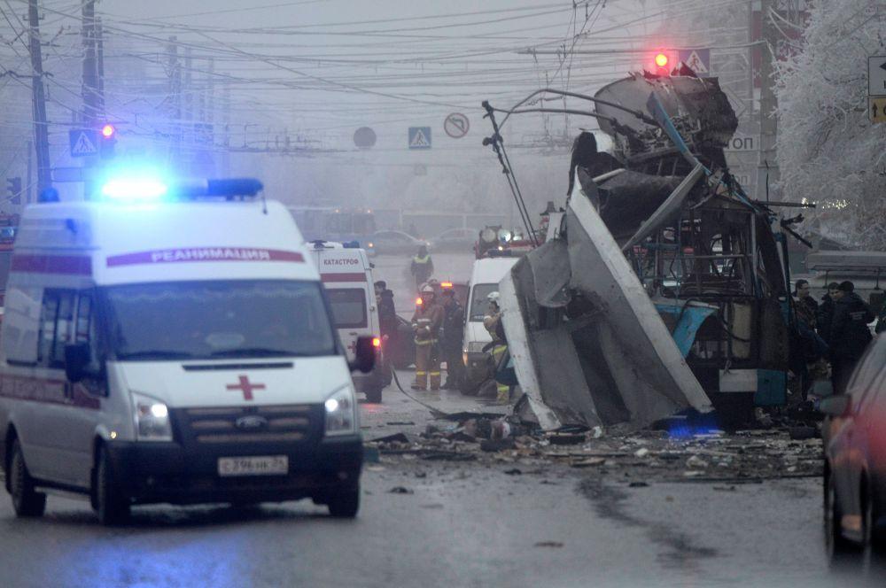 30 декабря около 8 часов 10 минут в троллейбусе маршрута 15А произошел взрыв, когда транспортное средство находилось на одной из самых оживленных улиц Волгограда – на улице Качинцев в Дзержинском районе.