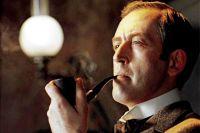 Василий Ливанов в роли Шерлока Холмса, 1979 год.