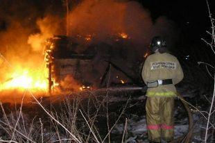 В первый день 2014 года на Южном Урале произошло 16 пожаров