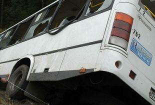 Рейсовый автобус «Курган-Челябинск» попал в ДТП в Красноармейском районе