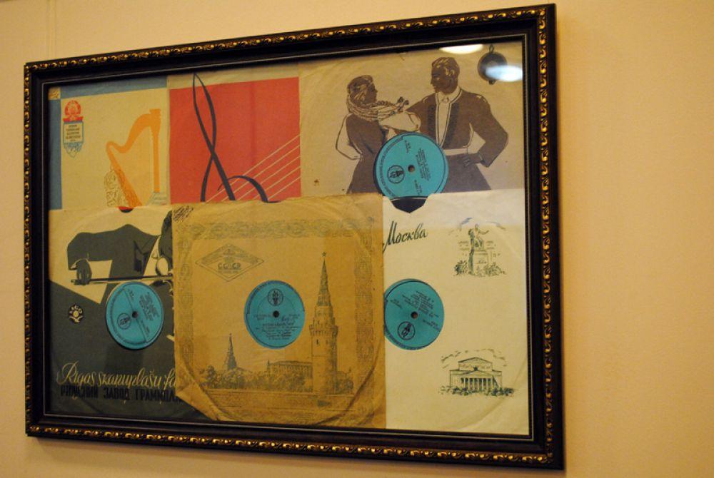 Музыка эстрадная и классическая - образцы пластинок