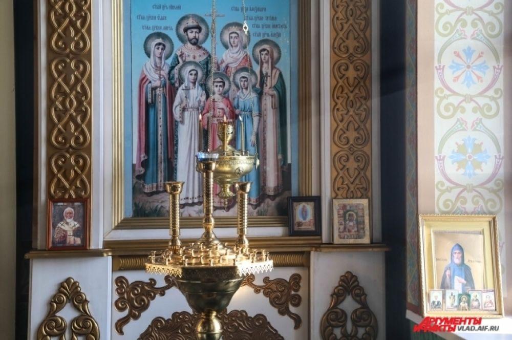 Иконостас в Храме Вознесения Господня в Спасске-Дальнем.