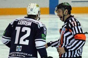 Хоккей: «Сибирь» обыграла «Атлант» в Новосибирске - 3:1