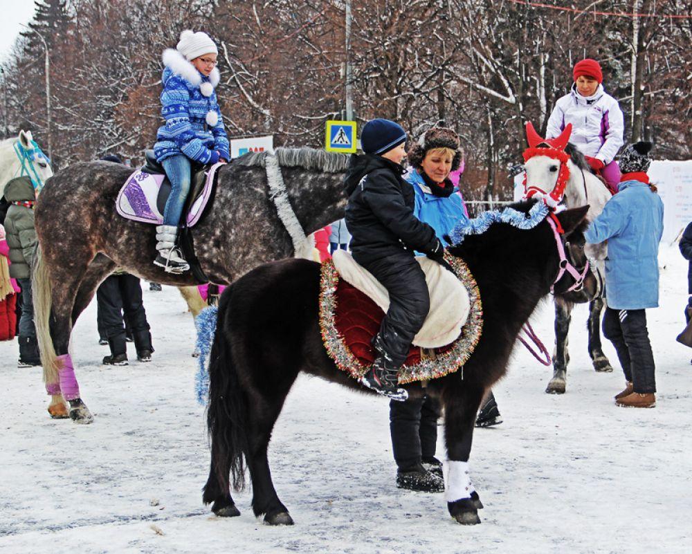 Рождественская кавалерия.