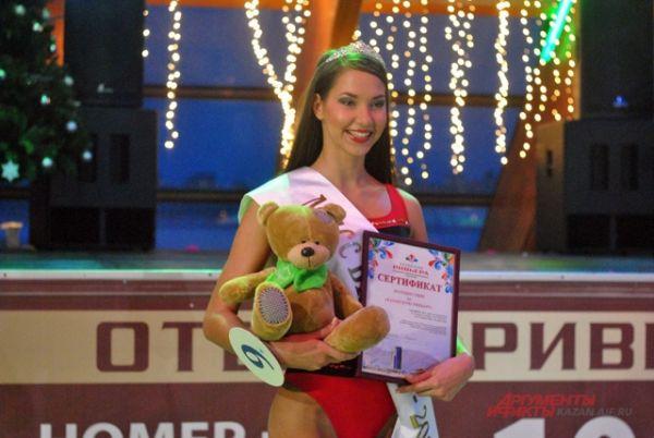 «Мисс Бикини-2014» стала 20-летняя студентка Поволжской государственной академии физической культуры, спорта и туризма Мария Колесникова.