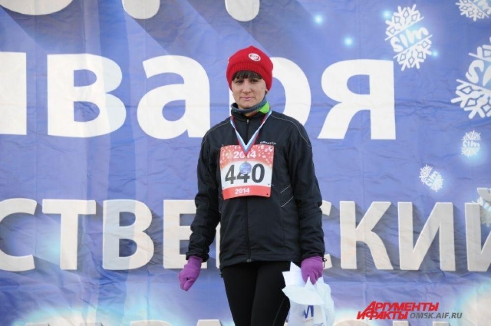 Традиционный Рождественский полумарафон состоялся в Омске.