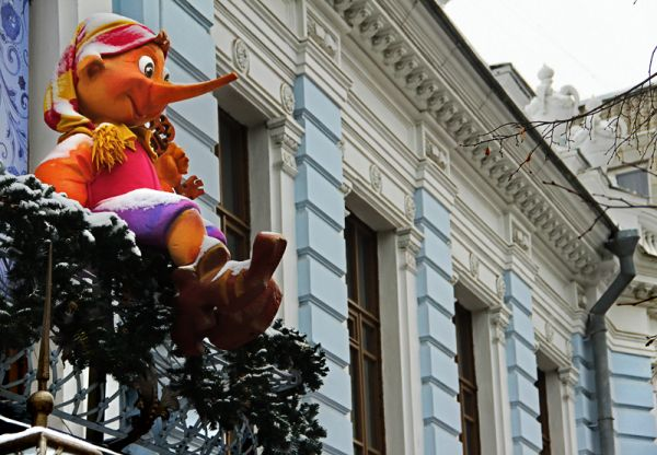 В здании Симбирского отделения Государственного банка поселился Ульяновский театр кукол.