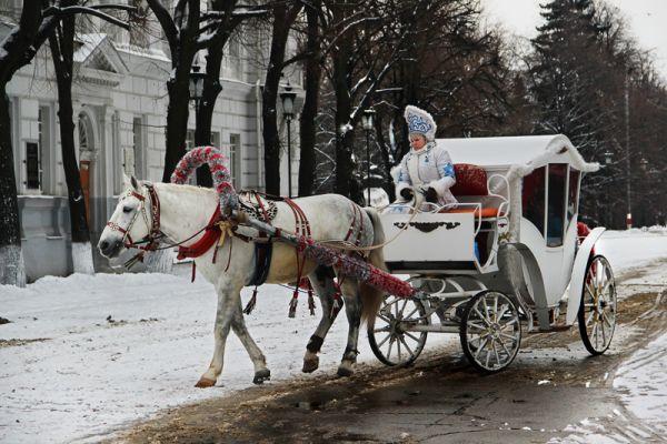 Бубенцы и теперь порой звенят в истоическом центре Ульяновска.
