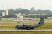 Современная база ВВС США Кадена в префектуре Окинава