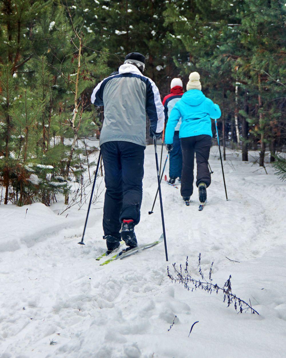 Без лыжной прогулки и шашлыки не в радость…
