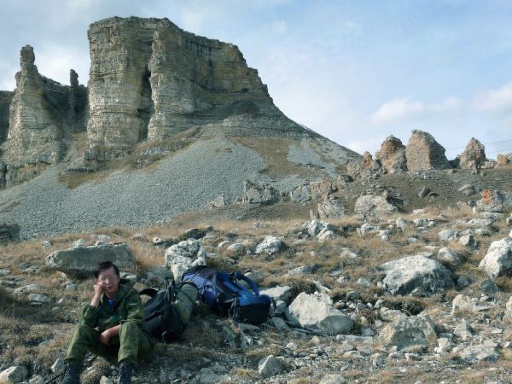 Плато Бермамыт на Кавказе