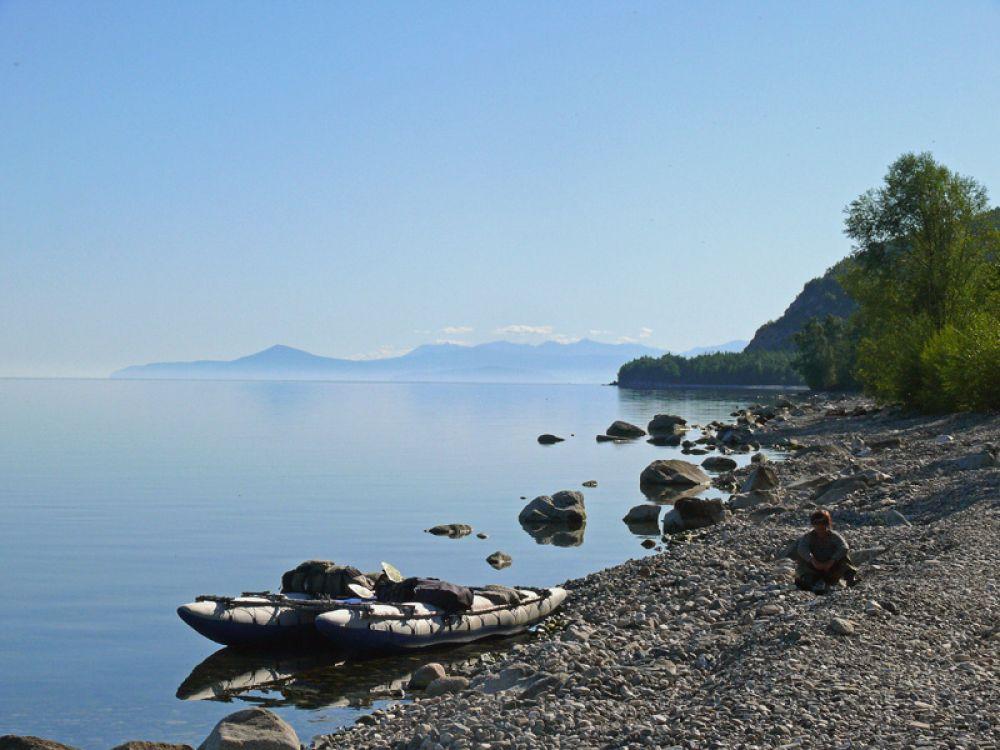 На берегу Байкала
