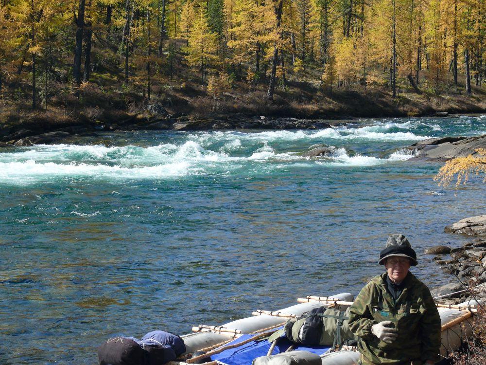 Река Малый Агул в Саянах