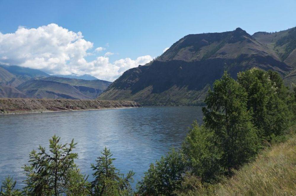 Река Бий-Хем. Саяны