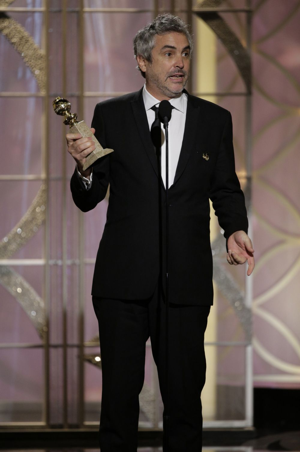 Фильм «Гравитация» получил на этом «Золотом глобусе» четыре номинации, но выиграл лишь одну награду – Альфонсо Куарон был назван лучшим режиссёром.
