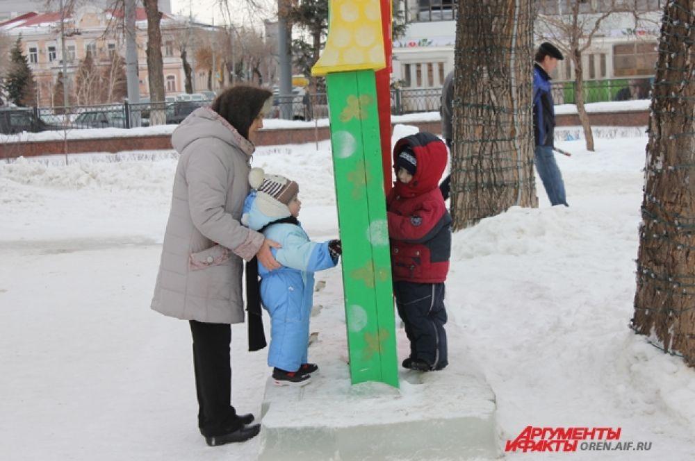 Вместо детского сада - на прогулку с бабушкой.