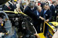 Президент РФ на открытии завода «Соллерс – Дальний Восток»