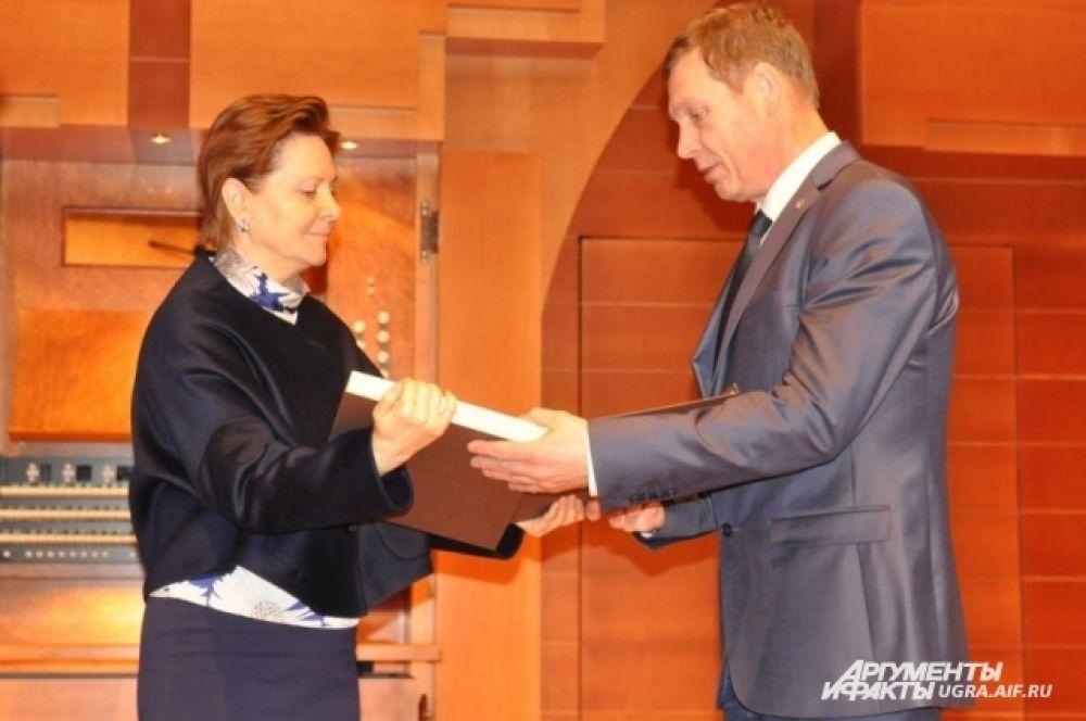 В номинации «Легенда журналистики Югры» был посмертно удостоен Сергей Катаев – создатель телекомпании «Сургутинтерновости».