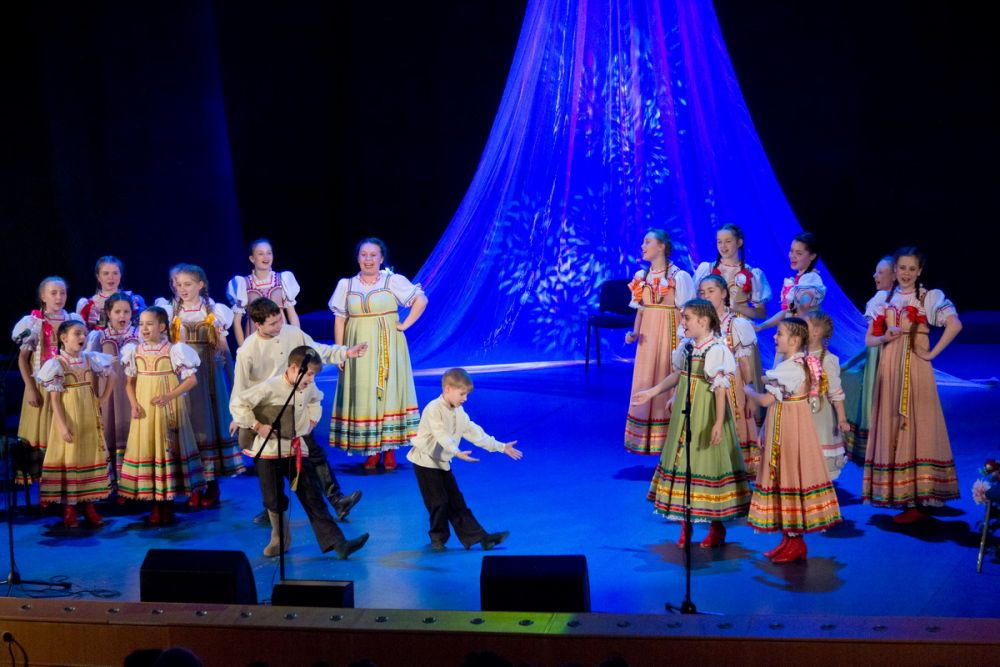 Для всех участников праздника был подготовлен красочный концерт.
